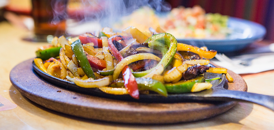 Try our Amigo Spot sizzlin hot fajitas!