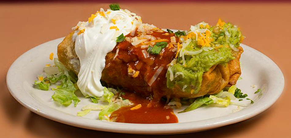 Try our Chimichanga a la carte.