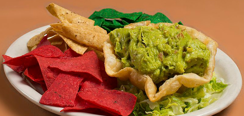 Try Amigo Spot's fresh Guacamole and Chips